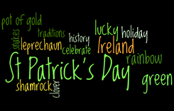 St Patrick's Day wordle